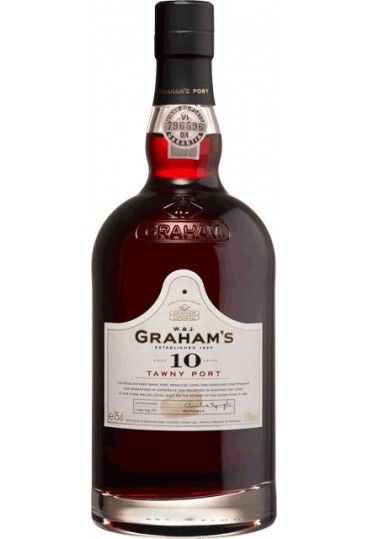 GRAHAM`S 10 YEARS TAWNY PORT